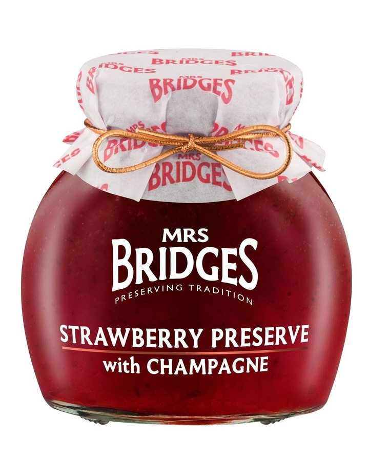Strawberry Preserve with Champagne 340g image 1
