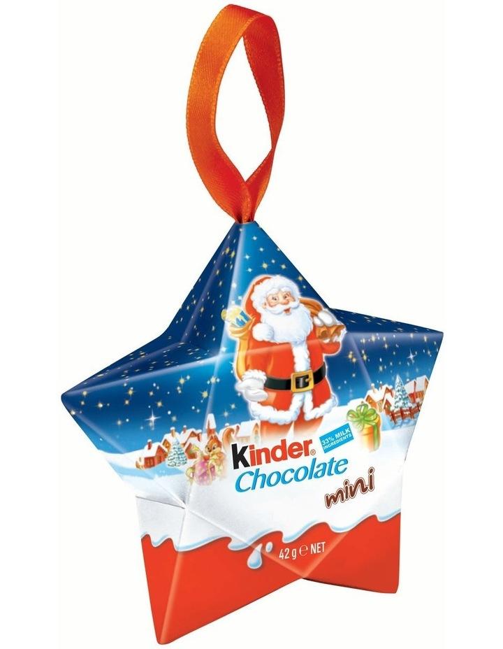 Kinder Mini Chocolate T7 Star Box 42g image 1