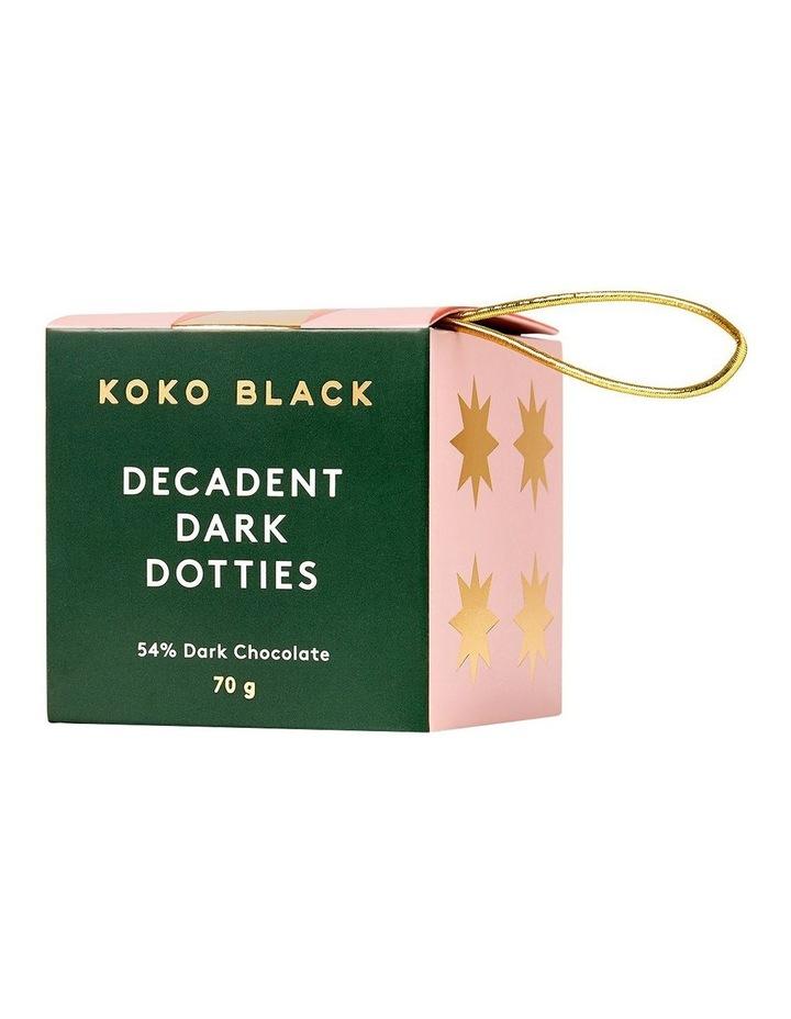 Decadent Dark Dotties Cube 70g image 3