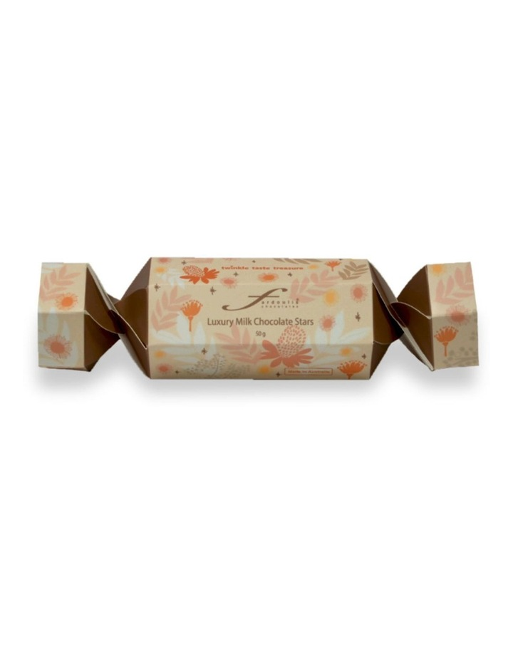 Fardoulis Stars Milk Chocolate Bon Bon Champagne 50g image 1