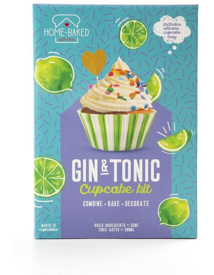 Home Baked Gin & Tonic Cupcake Set image 1