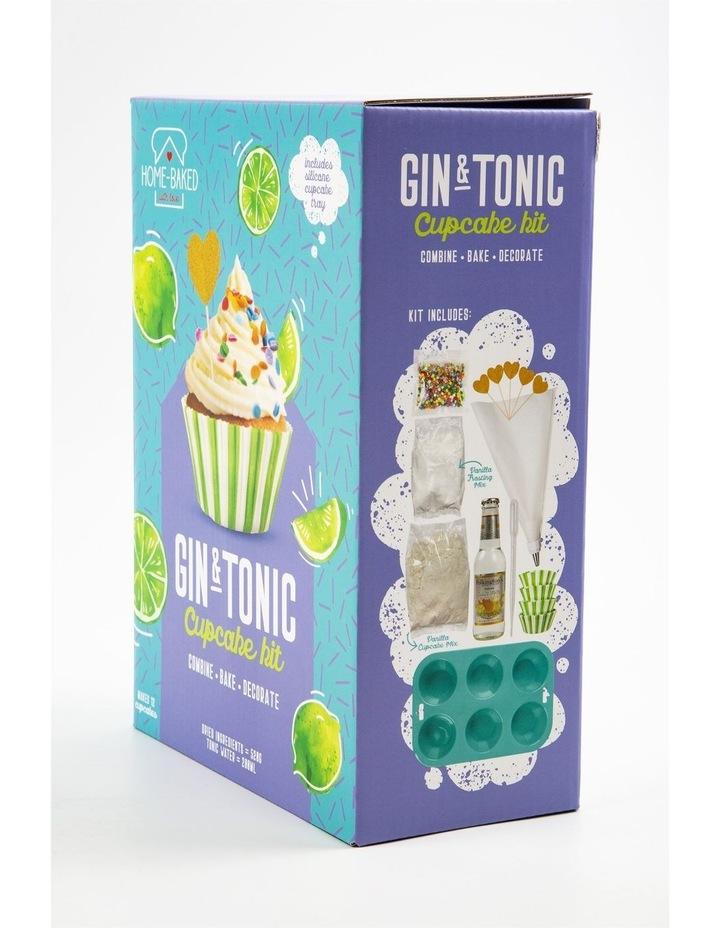 Home Baked Gin & Tonic Cupcake Set image 2