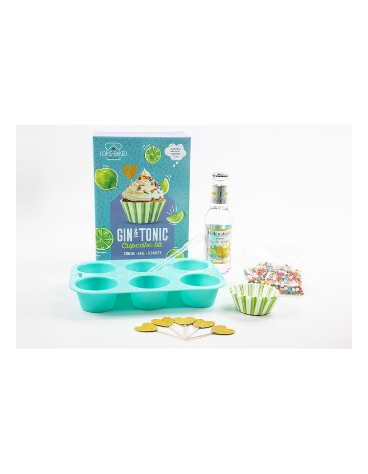 Home Baked Gin & Tonic Cupcake Set image 4