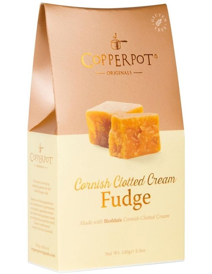 Copperport Satchel 150g - Cornish Clotted Cream Fudge image 1