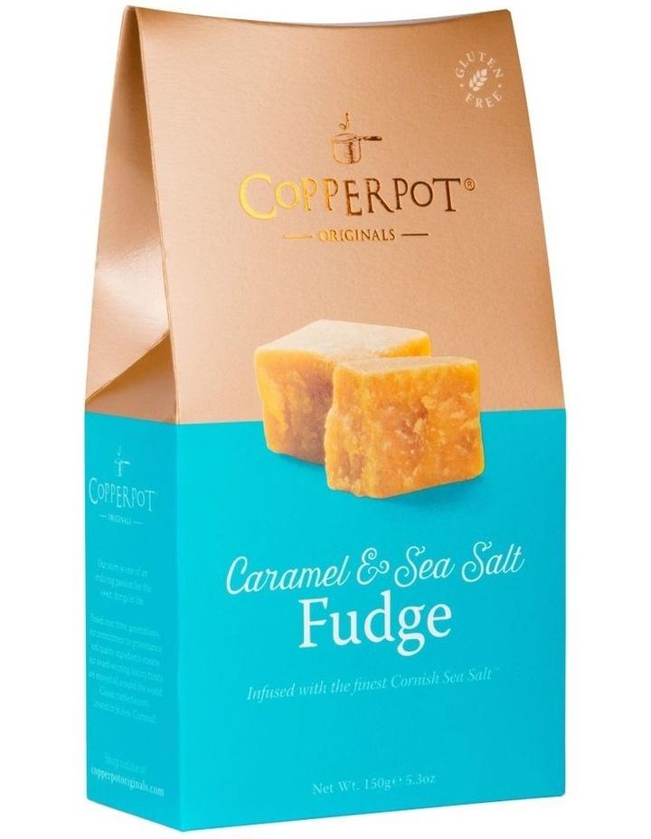Copperport Satchel 150g - Caramel & Sea Salt Fudge image 1
