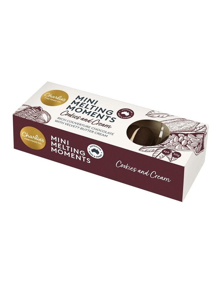 Charlie's Mini Melting Moments Cookies & Cream 50g image 1