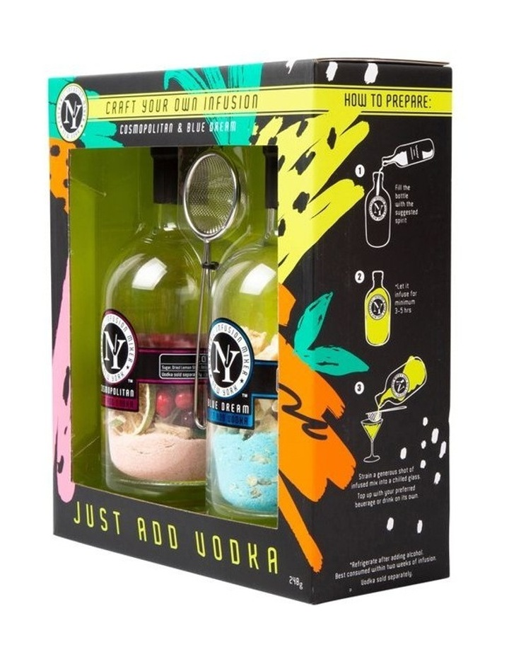 New York Cocktail Infusion Mixer Twin Pack - Vodka 240g image 2