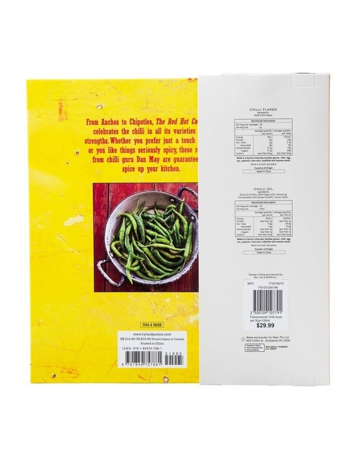 Flavoursome Chilli book set 30g 100ml image 3
