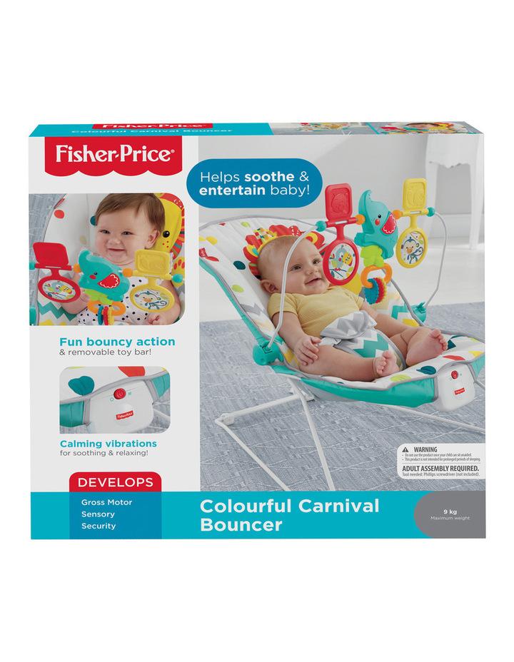 Rainforest Friends Comfort Curve Bouncer image 1