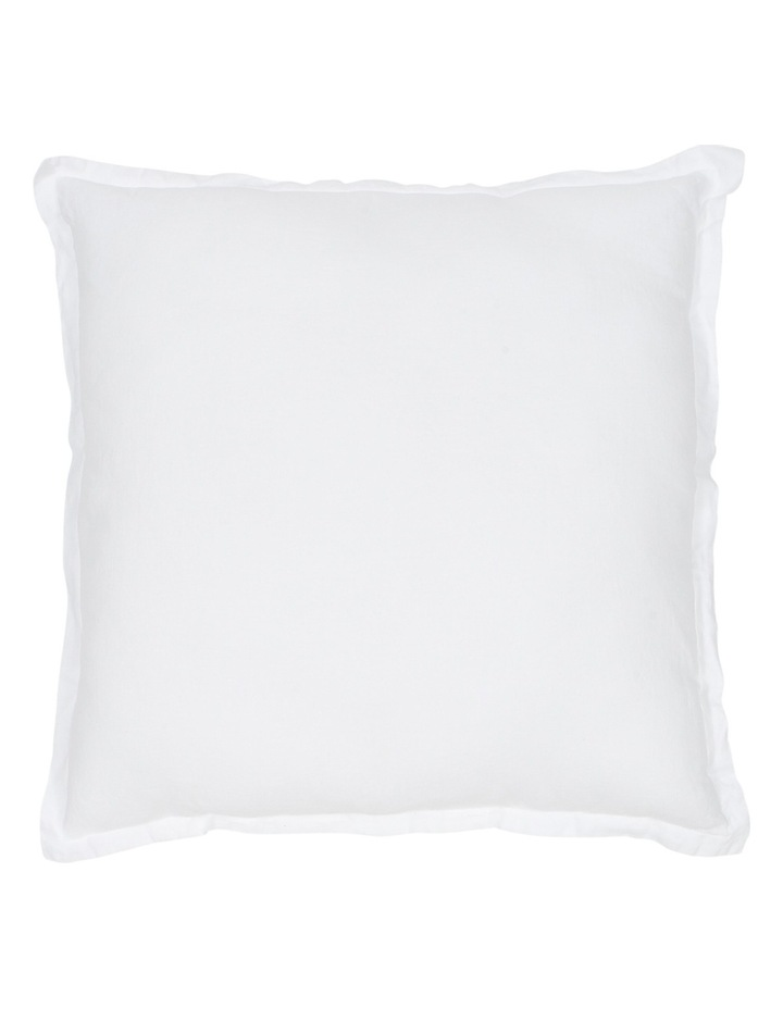 Sandy Cape Bed Cushion in White image 1