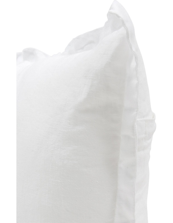Sandy Cape Bed Cushion in White image 2