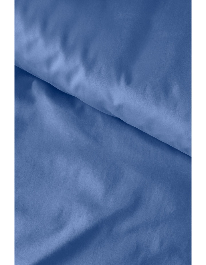 400 Thread Count Soft & Silky Egyptian Cotton Flat Sheet in Navy image 4
