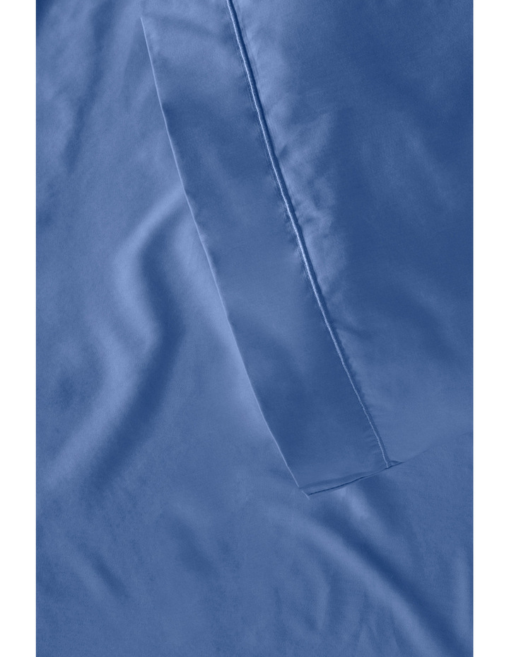 400 Thread Count Soft & Silky Egyptian Cotton Deep Fitted Sheet in Navy image 4