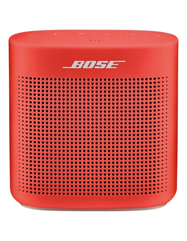 SoundLink Colour Bluetooth Speaker II - Coral Red image 1