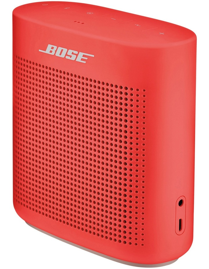 SoundLink Colour Bluetooth Speaker II - Coral Red image 2