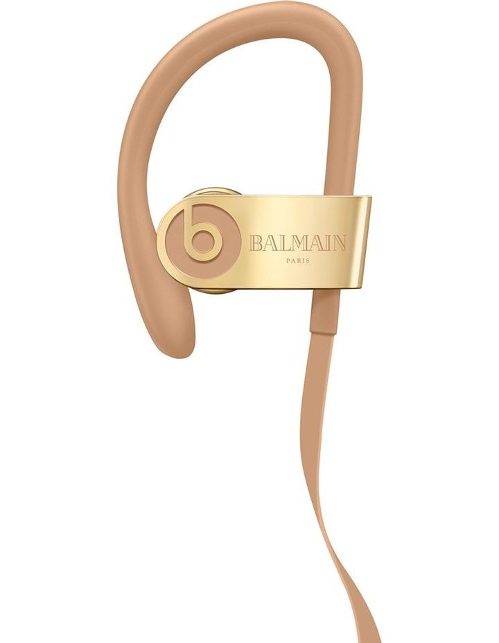6510ae3f7c4 Powerbeats3 Wireless Earphones - Balmain Special Edition - Safari image 1