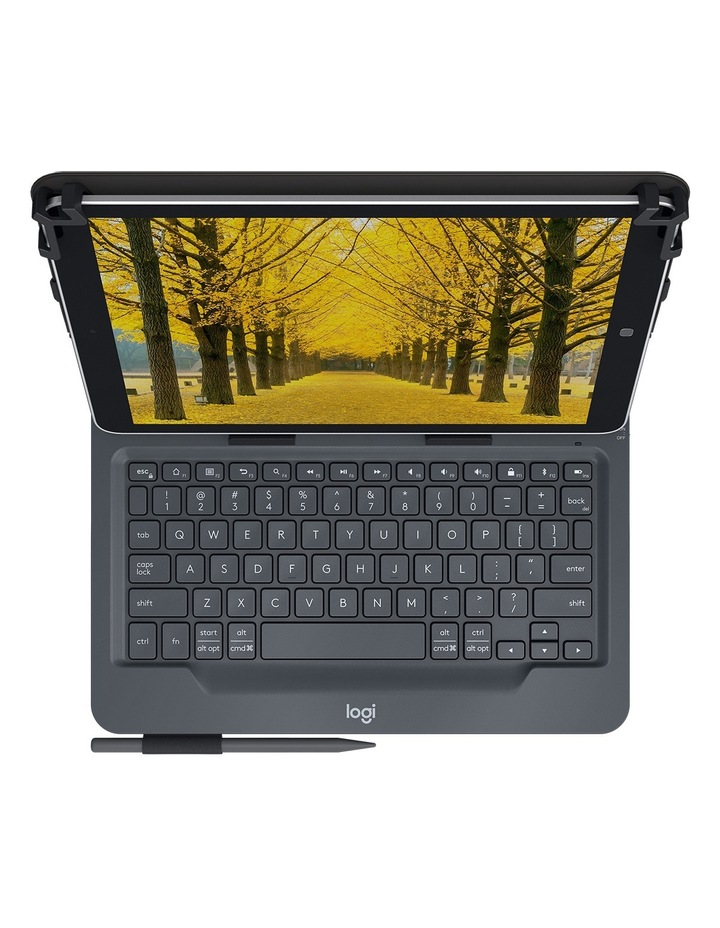 Universal Folio with Integrated Keyboard for 9-10in Tablets image 2