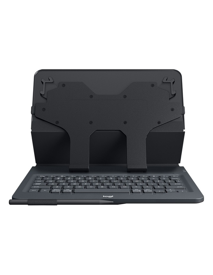 Universal Folio with Integrated Keyboard for 9-10in Tablets image 6