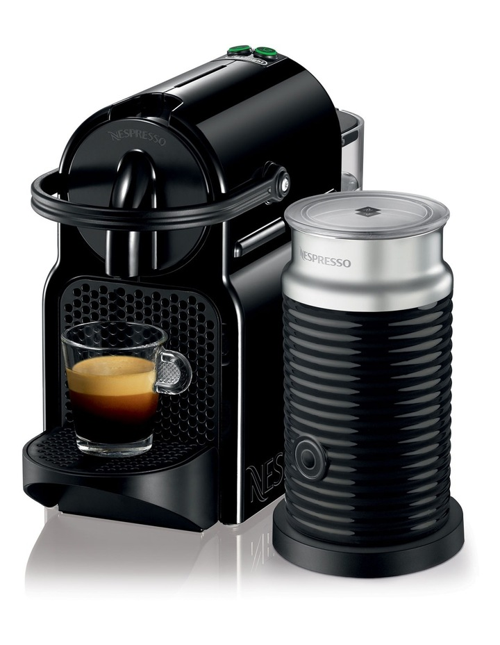 by Delonghi EN80BAE Inissia Capsule Coffee Maker: Black image 1
