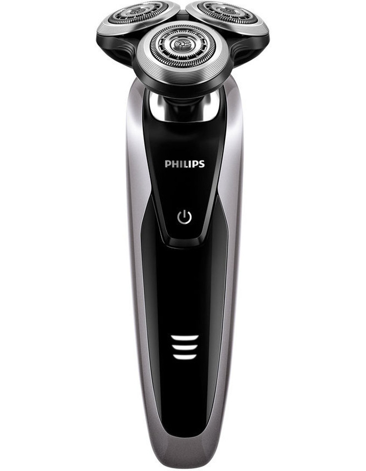 S9111 Series 9000 Wet & Dry Rechargeable Shaver: Black & Silver image 1