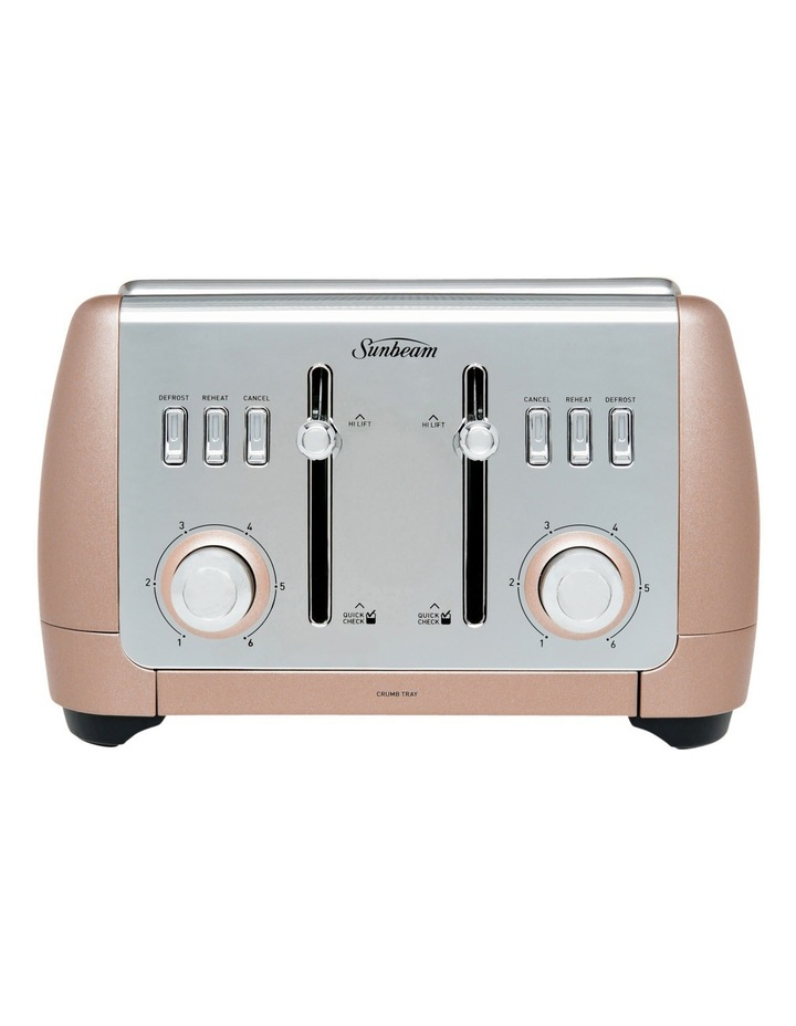 London Collection 4 slice toaster: Rose Bronze TA2240BZ image 1