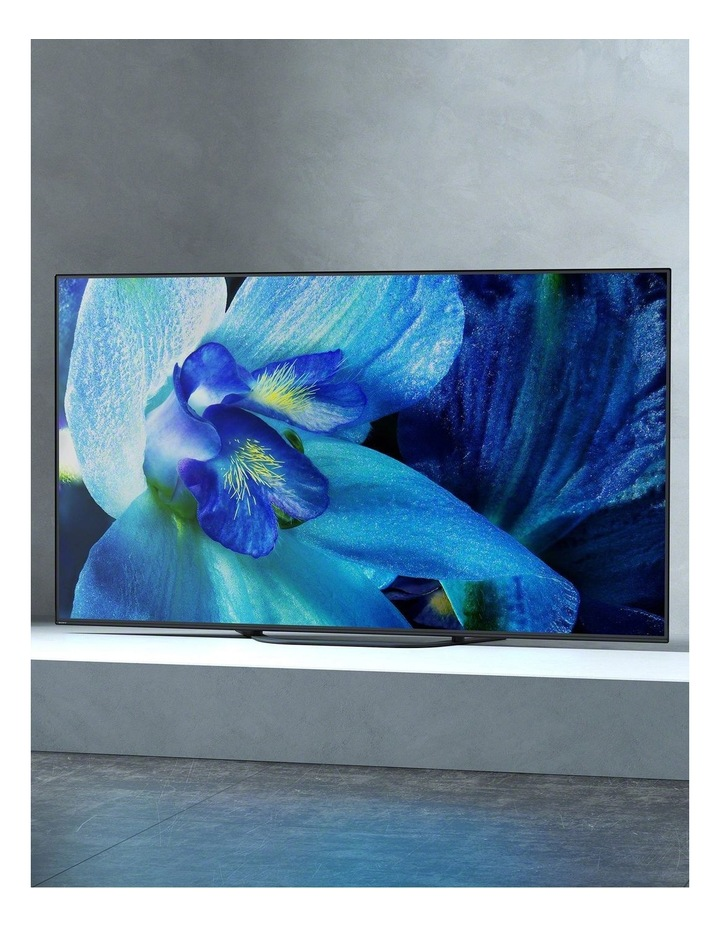 "4K UHD 65"" Android OLED TV with Acoustic Surface Audio A8G image 6"
