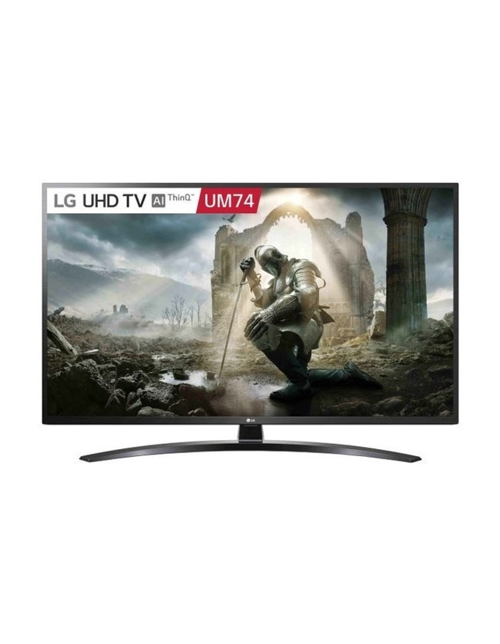 "Ultra HD LED ThinQ AI TV 55"" (139cm)  55UM7400 image 1"