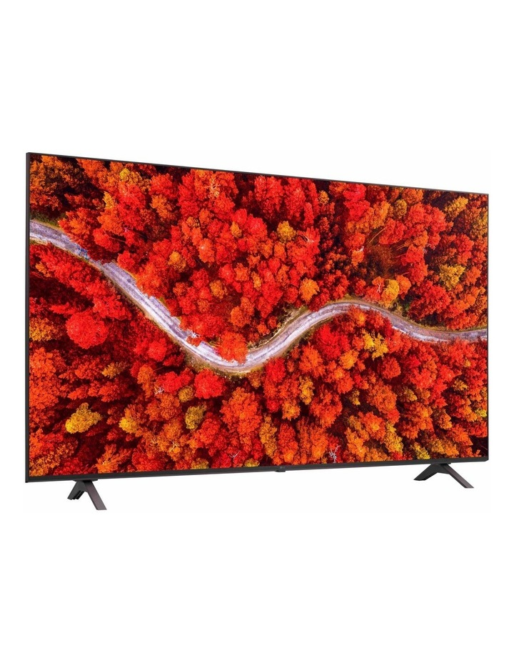 UHD 80 Series 55 inch 4K TV with AI ThinQ Smart TV 55UP8000PTB image 2