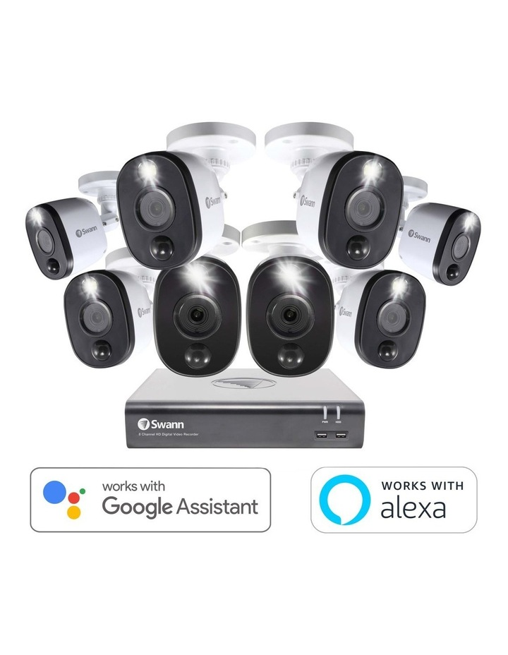 SWDVK-845808WL 8 Camera 8 Channel 1TB DVR Security System image 1