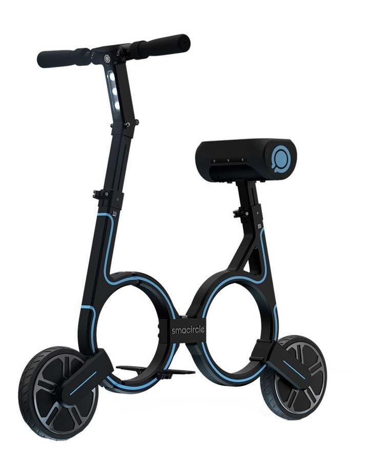 S1 Foldable Electric Bike - Blue image 1