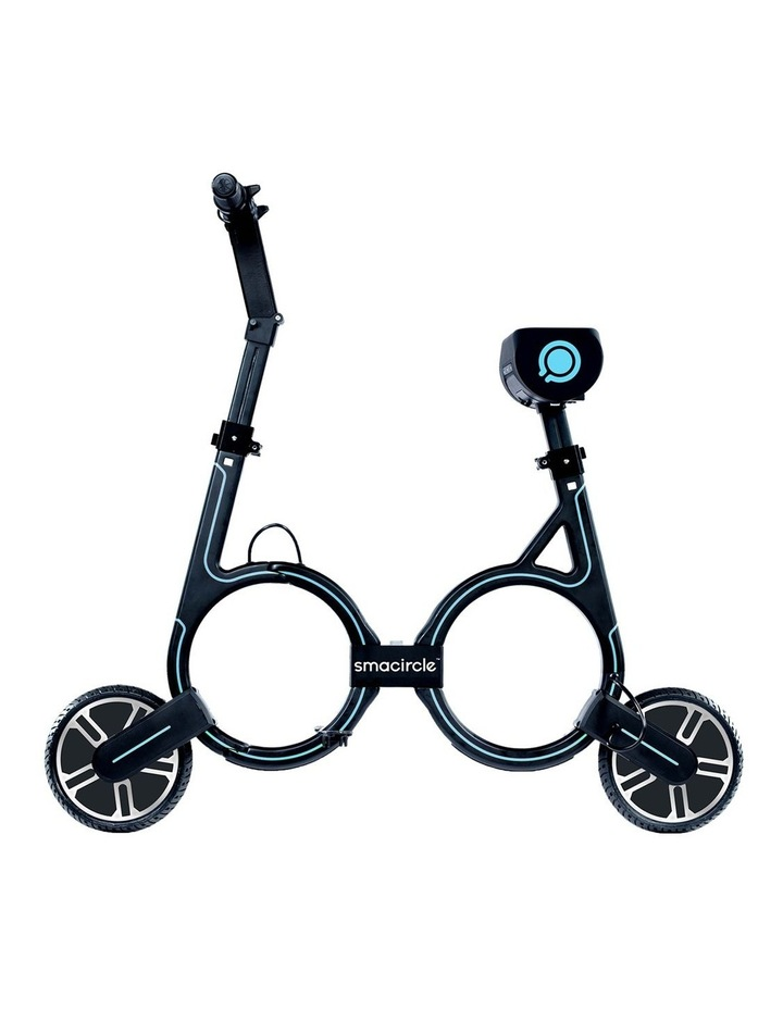 S1 Foldable Electric Bike - Blue image 2