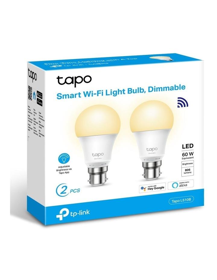 Tapo 2 Pack Smart B22 Light Bulb L510B image 2