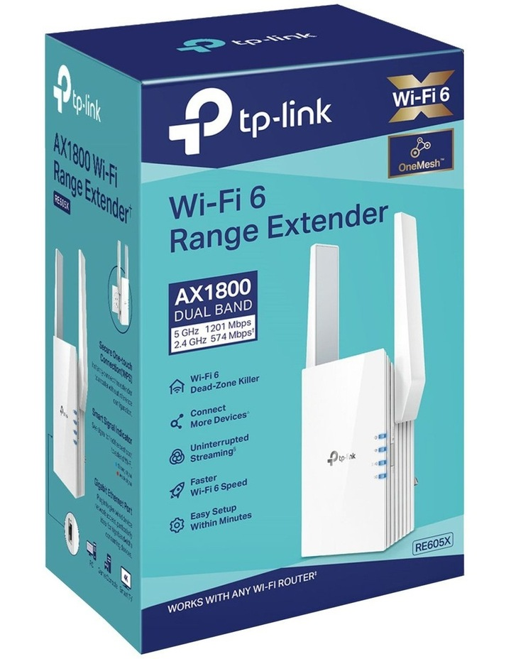 Wi-Fi Range Extender AX1800 image 2