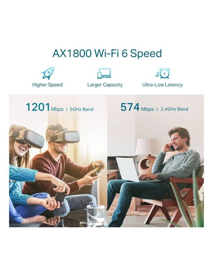 Wi-Fi Range Extender AX1800 image 3