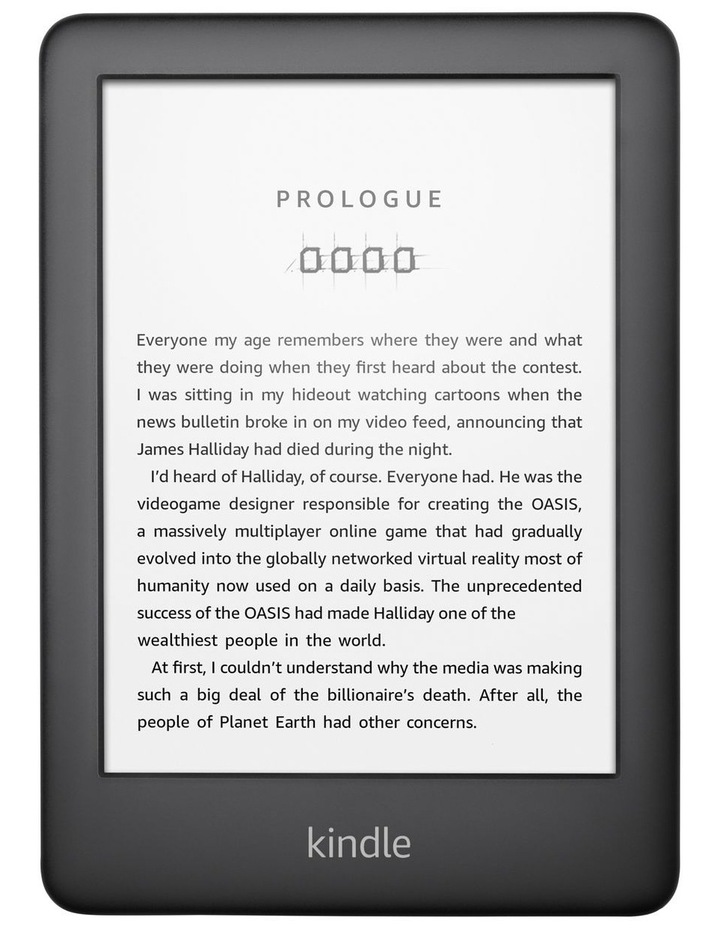 "Kindle 6"" e-Reader 4GB Black (2019) image 1"