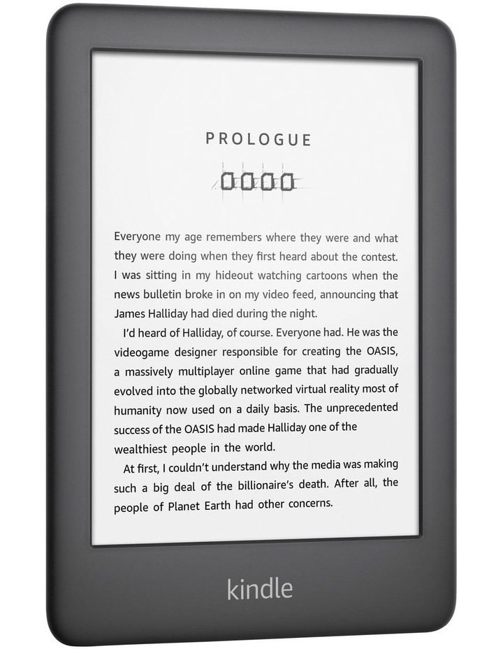 "Kindle 6"" e-Reader 4GB Black (2019) image 3"