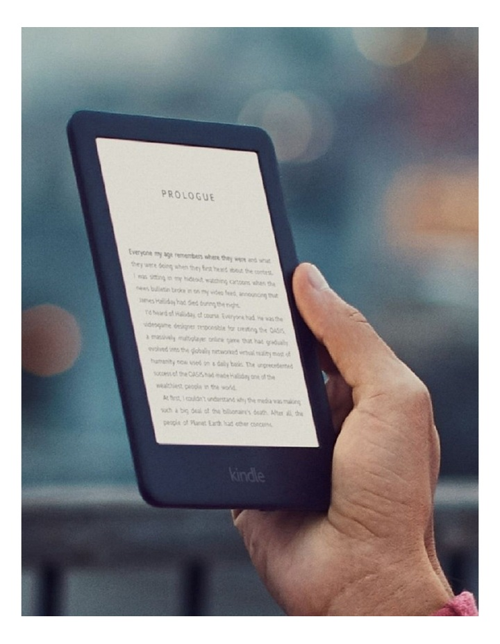 "Kindle 6"" e-Reader 4GB Black (2019) image 5"