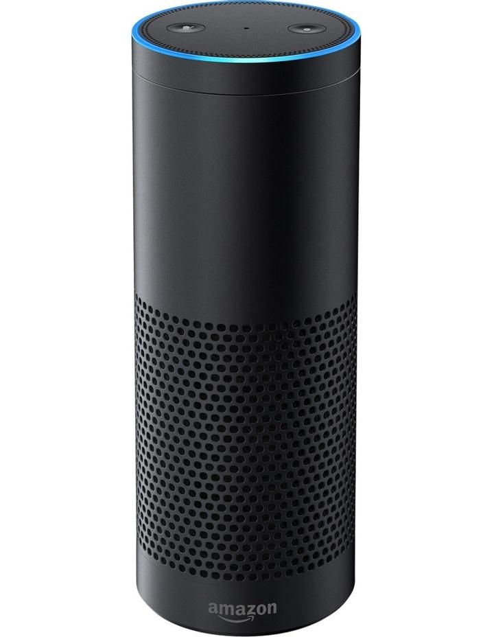 Echo Plus with Bonus Philips Hue Bulb (B22 Bayonet) - Black image 2