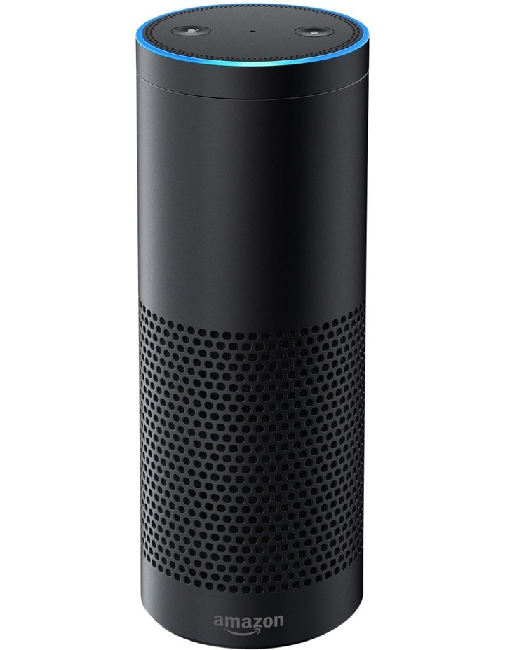 Amazon Echo Plus with Bonus Philips Hue Bulb (E27 Edison Screw) - Black image 2