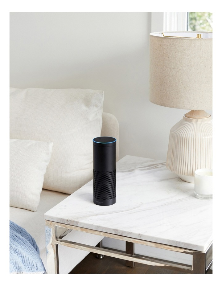 Amazon Echo Plus with Bonus Philips Hue Bulb (E27 Edison Screw) - Black image 4