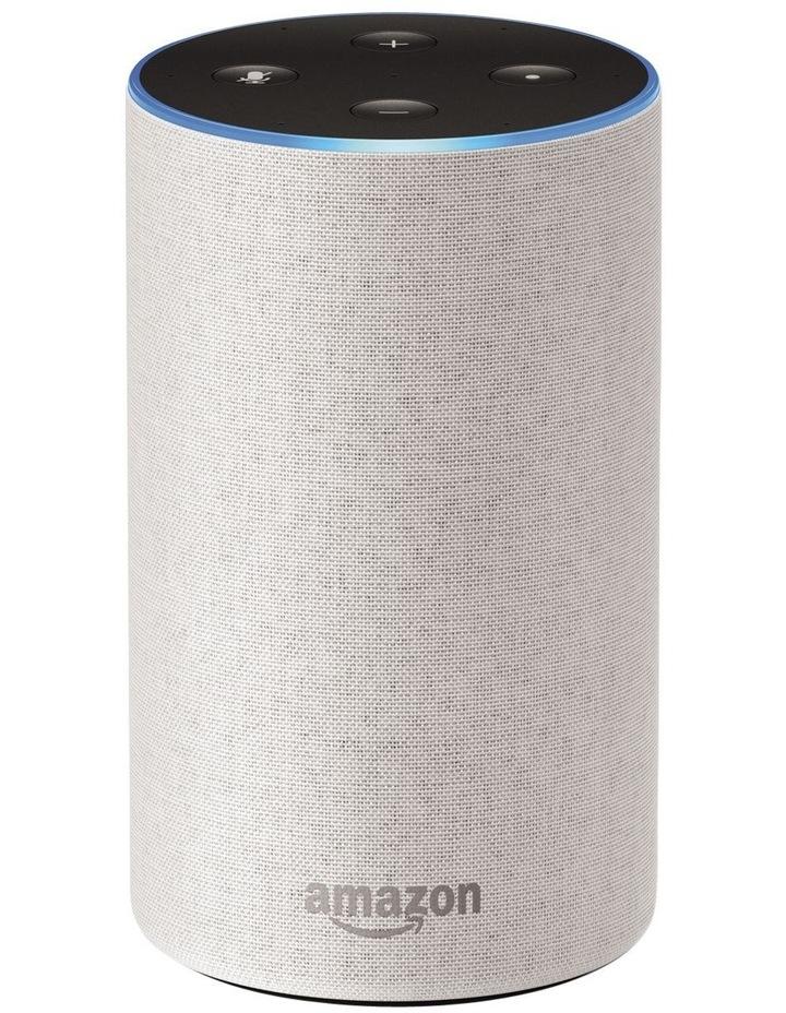 Amazon Echo (2nd generation) - Sandstone Fabric image 1