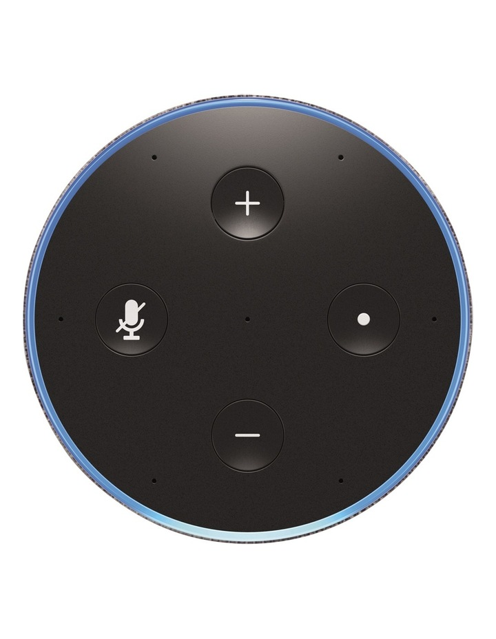 Amazon Echo (2nd generation) - Heather Grey Fabric image 2
