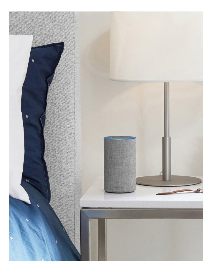 Amazon Echo (2nd generation) - Heather Grey Fabric image 3