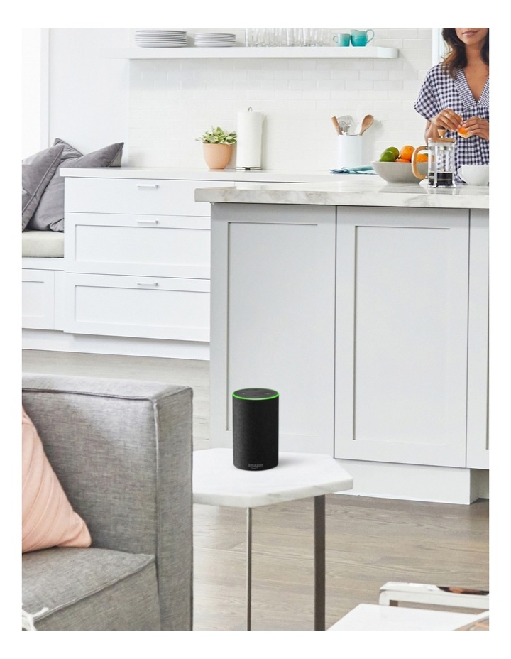 Amazon Echo (2nd generation) - Heather Grey Fabric image 4