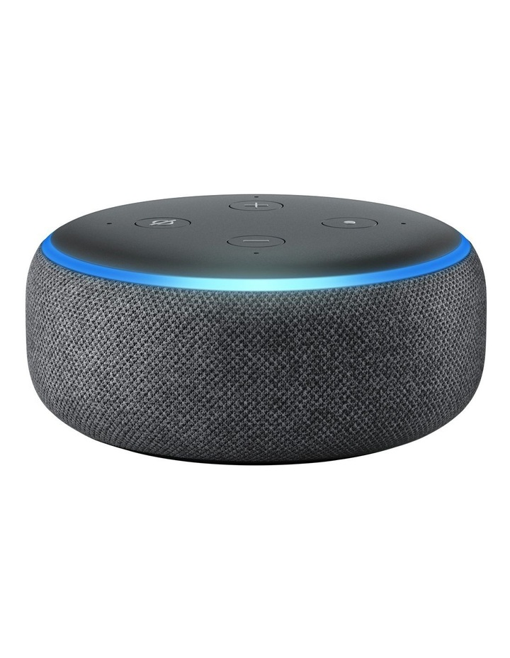 Amazon Echo Dot (3rd Gen) Charcoal | MYER