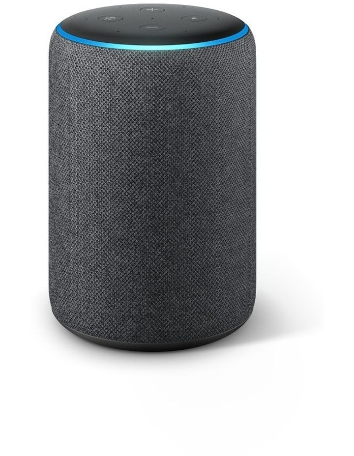 Echo Plus (2nd Gen) Charcoal W' Bonus Philips Hue E27 Bulb image 3