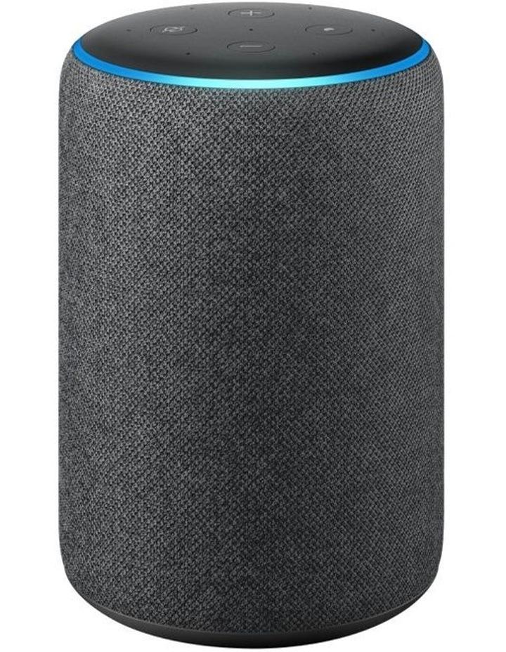 Echo (3rd Gen) Smart Speaker with Alexa - Charcoal Fabric image 1