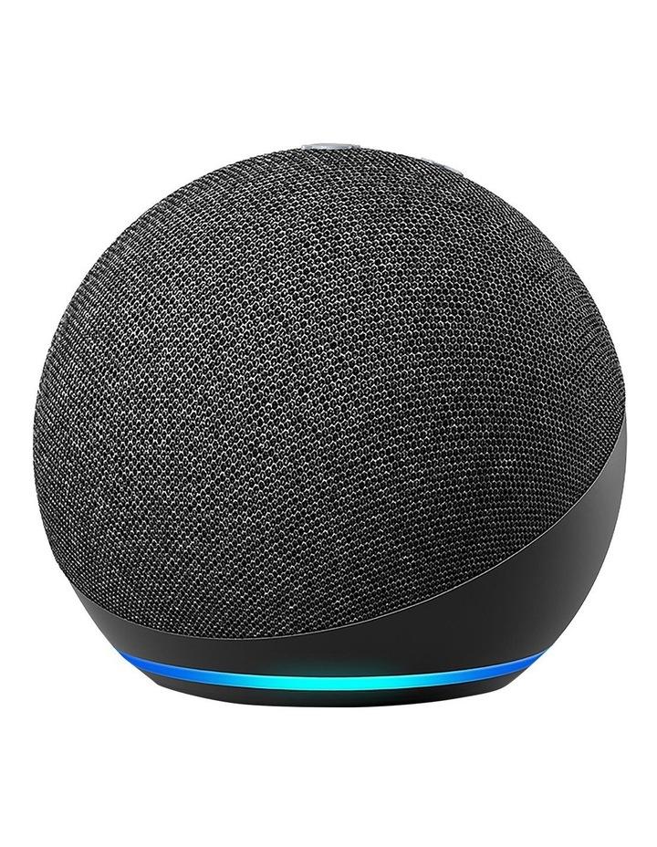 Amazon Echo Dot with Alexa (4th Gen) Charcoal image 1