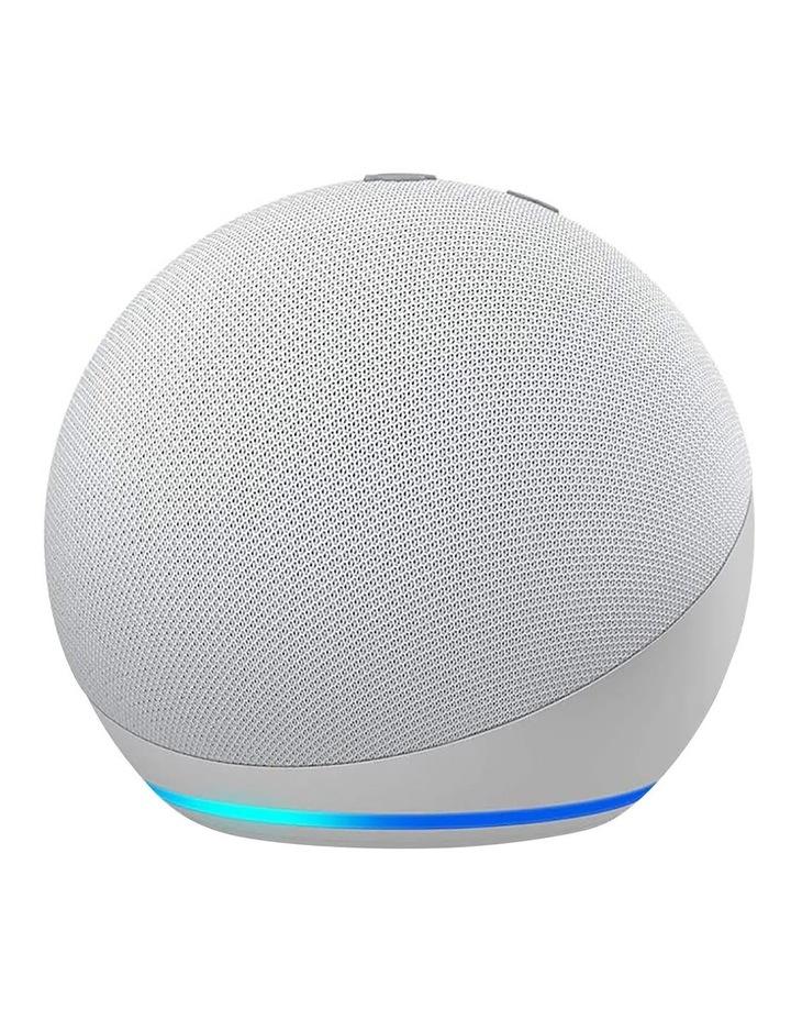Amazon Echo Dot with Alexa (4th Gen) Glacier white image 1