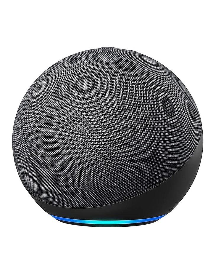 Amazon Echo with Alexa (4th Gen) Charcoal image 2